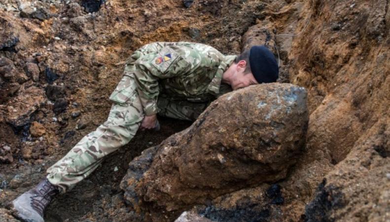 В Лондоне найдена бомба времен Второй мировой войны