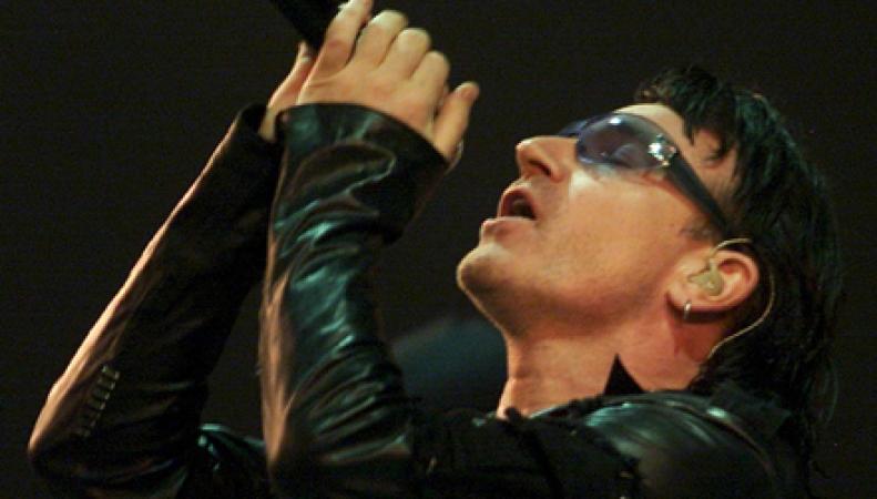 Боно, солист группы U2