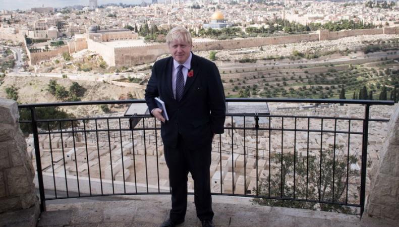 Поездка мэра Лондона на Ближний Восток обернулась скандалом