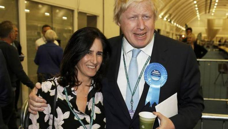 Борис Джонсон с женой