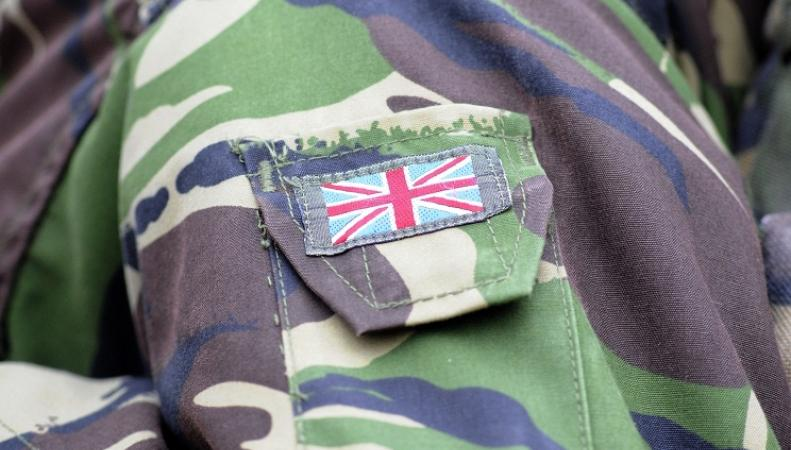 Нашивка британских войск