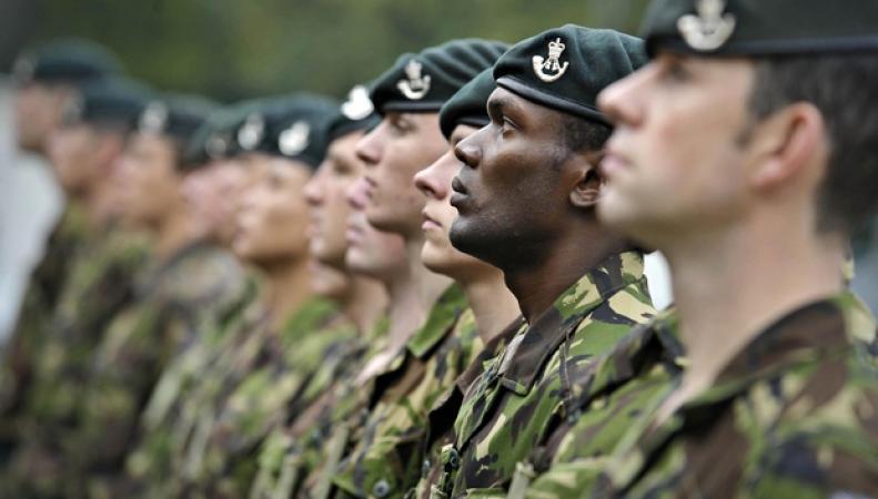 Служащие британской армии