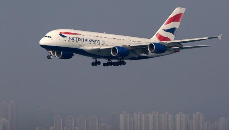 Авиалайнер British Airways экстренно сел в США