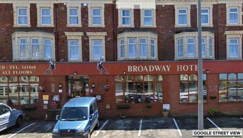 гостиница Broadway Hotel в Блэкпуле