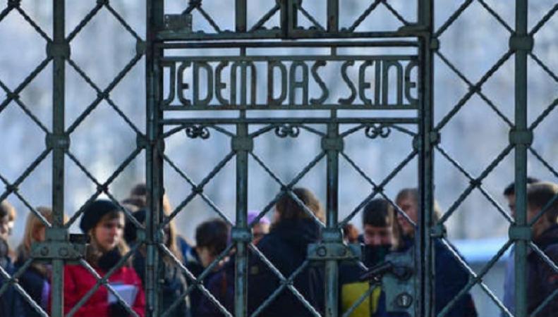 Германия поселила мигрантов в Бухенвальде
