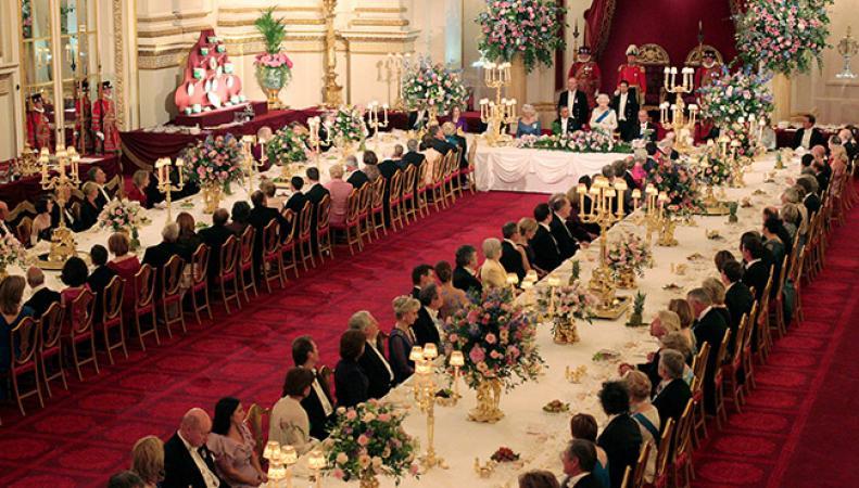 Бальный зал Букингемского дворца