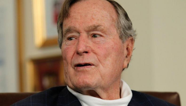 Буш-старший из-за проблем с дыханием госпитализирован в больницу, http://i.huffpost.com/