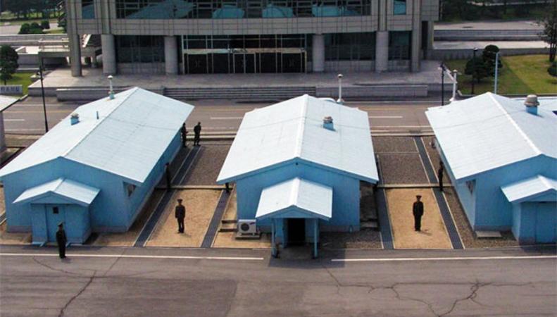 Приграничная зона КНДР