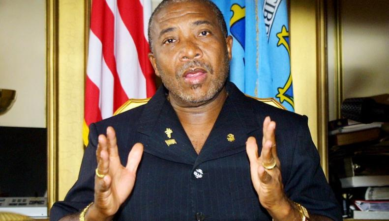 Бывший президент Либерии Чарльз Тейлор