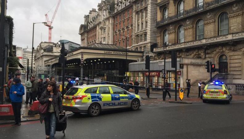 бомба на вокзале