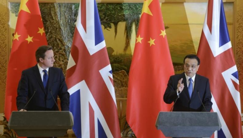 премьер-министры Великобритании и КНР