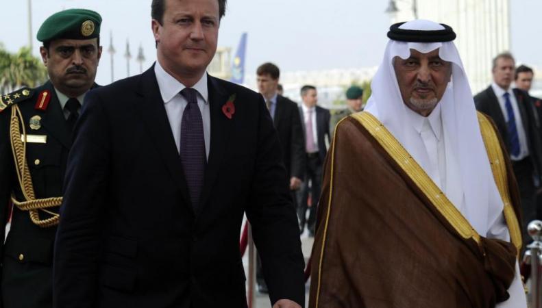 Кэмерон и эмир Мекки в 2012-м году