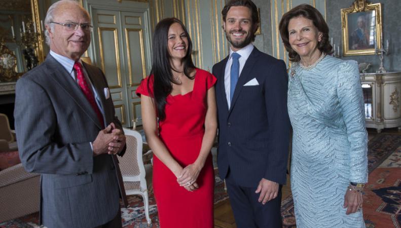 Принц Карл Филипп Шведский и София Хеллквист