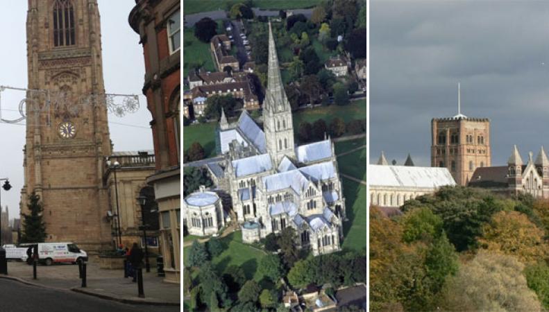 английские кафедральные соборы