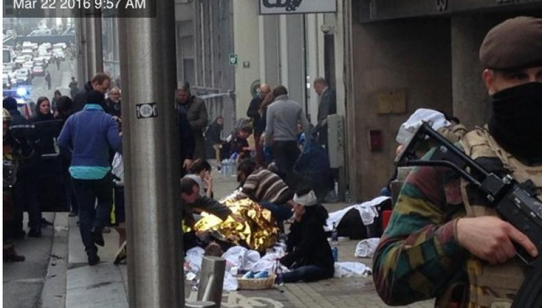 Терракты в Брюсселе