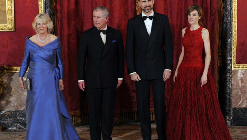 принц Чарльз и кронпринц Фелипе