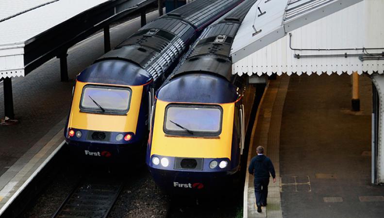 Поезда на станции Паддингтон