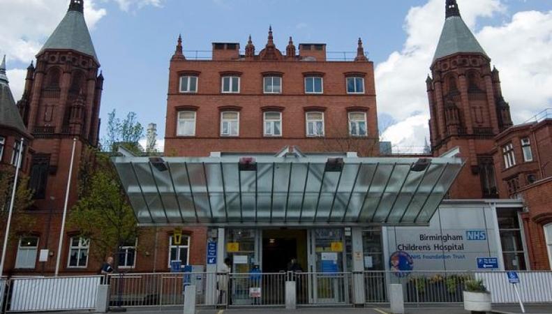 Детская больница в Бирмингеме