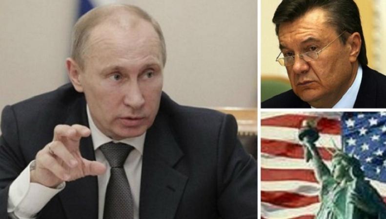 Путин заявил о причастности США к свержению Януковича