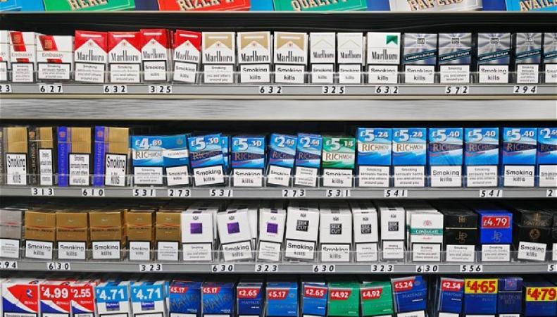 стандартизаия сигаретной упаковки