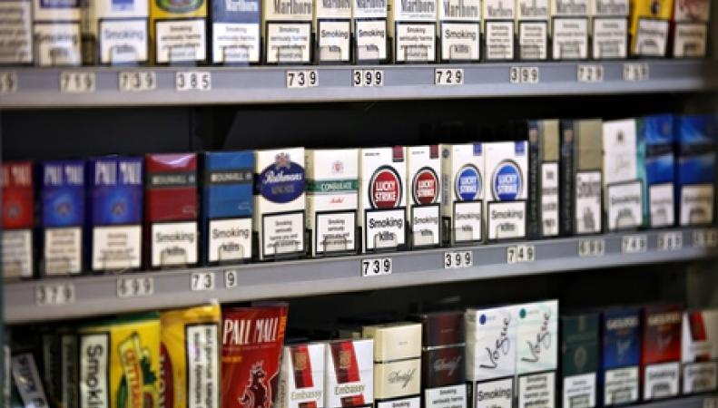 Сигаретный прилавок