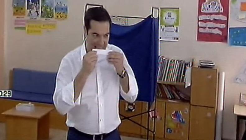Ципрас сделал свой выбор на референдуме