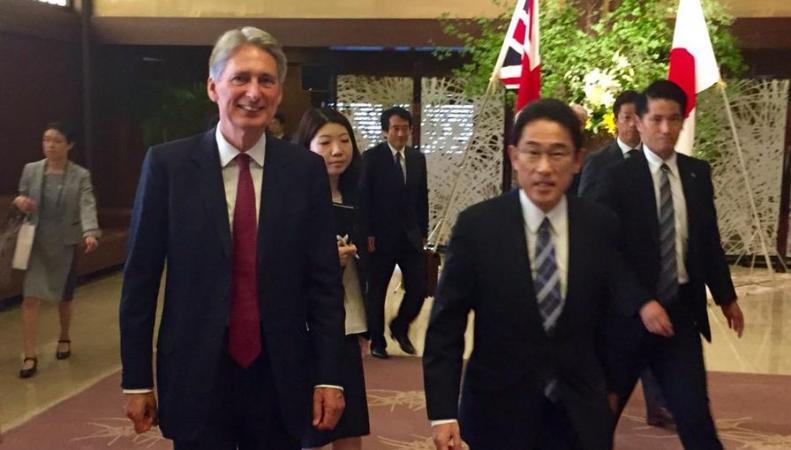 Япония и Британия договорились: их беспокоит Китай