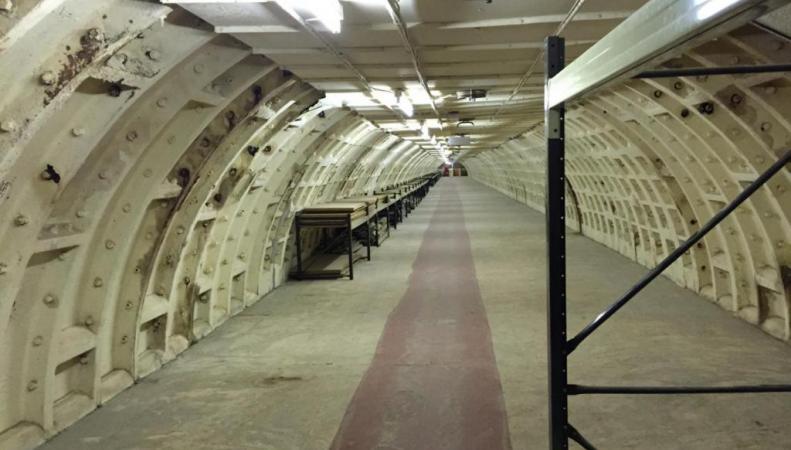 бомбоубежище в Клэпхэме