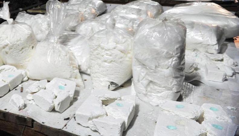 В Британии задержано судно с тремя тоннами кокаина