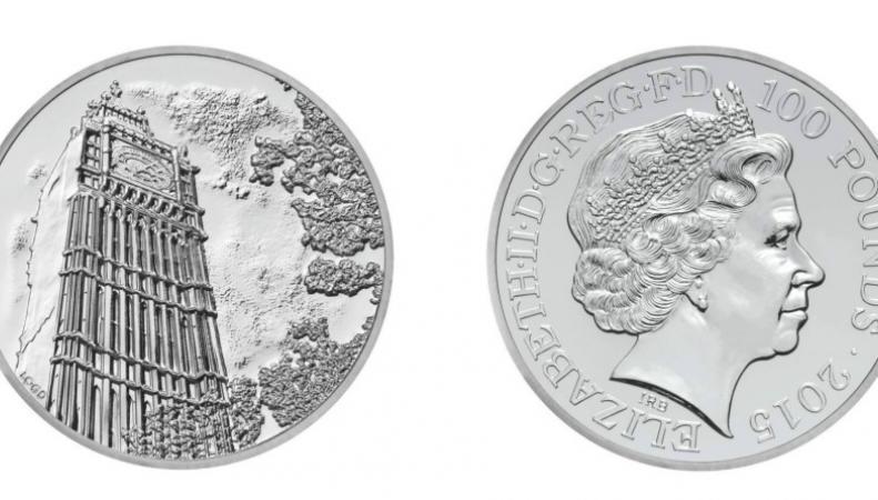 Новогодняя коллекционная монета