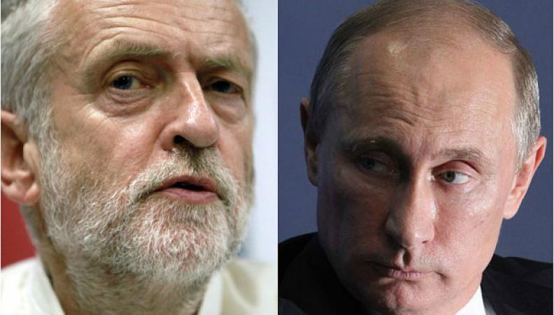 Корбин и Путин