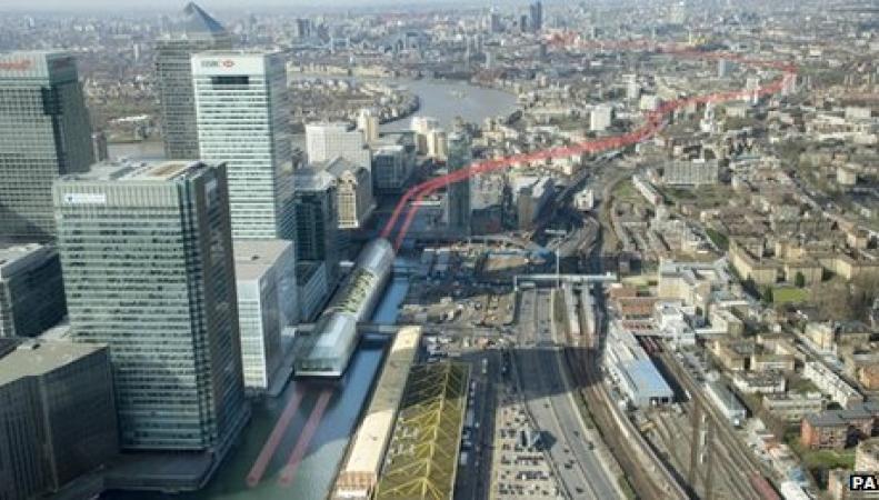 скоростная линия Crossrail