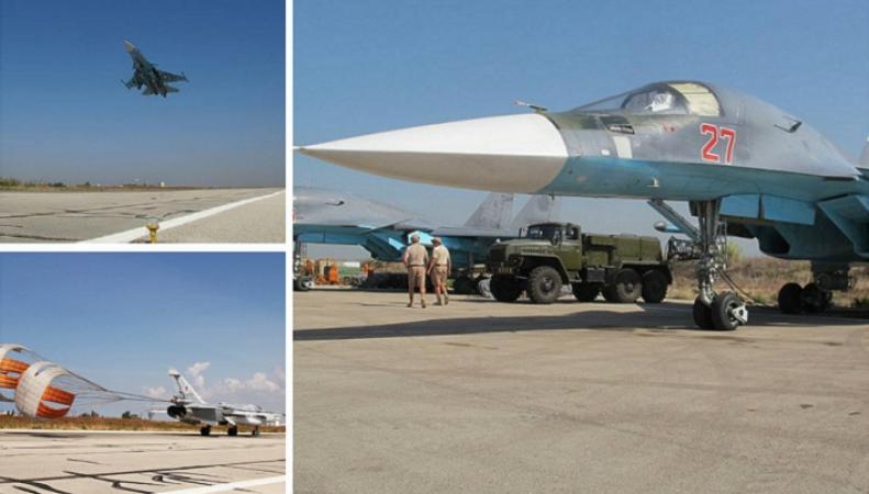 Российских боевых вылетов в Сирии стало меньше