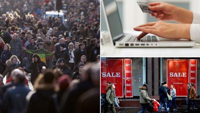 Кибер-понедельник в Великобритании