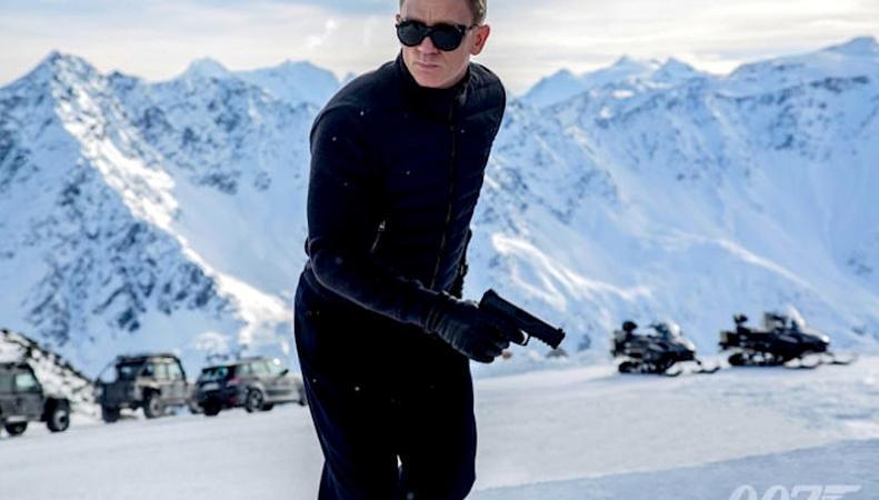 Джеймс Бонд, кадр из фильма Spectre