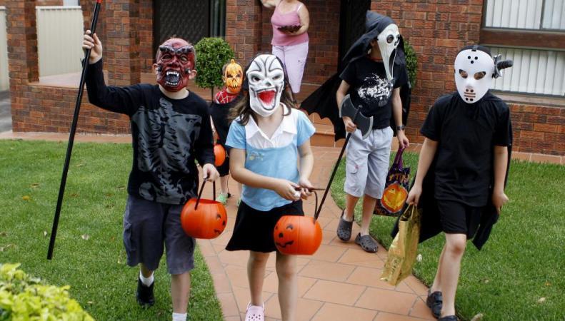 Детские шалости на Хэллоуин в Лондоне хотят предотвратить