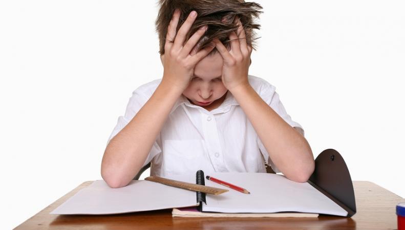 Ребенок с дислексией