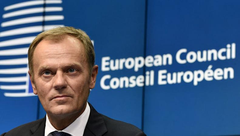 Глава Евросовета Дональд Туск