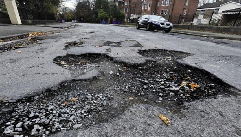 В Великобритании пересчитали все дорожные ямы