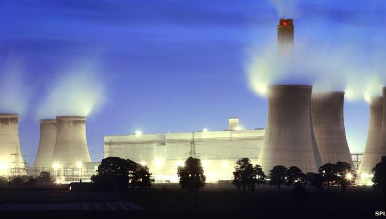 угольная электростанция Drax