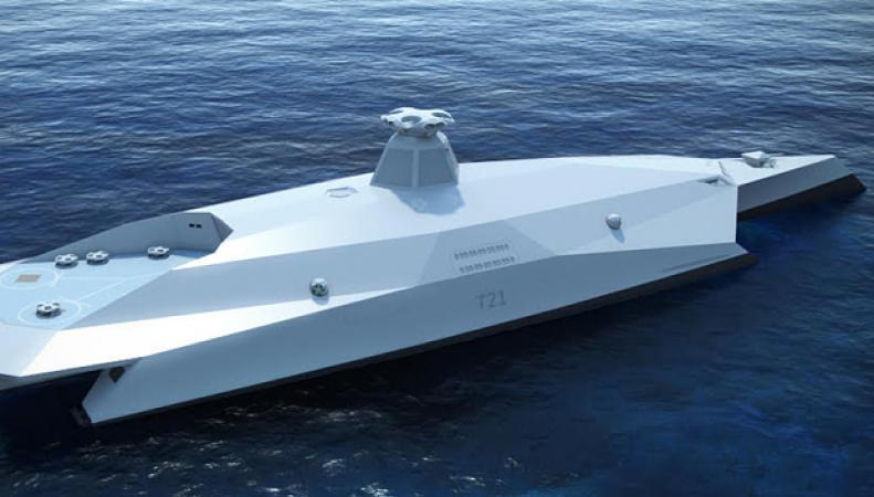 Великобритания представила проект корабля будущего