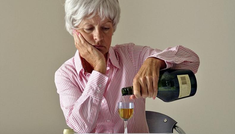 пьющие пенсионеры