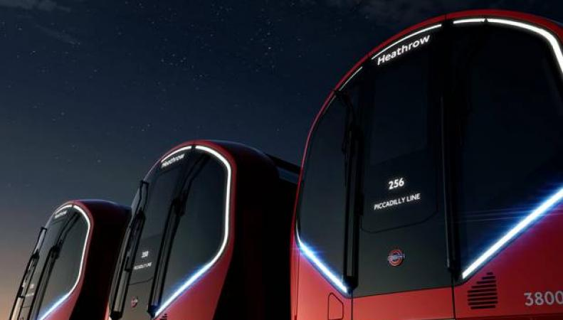 Новые лондонские метропоезда