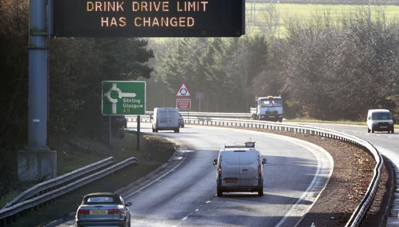 Трафик на шоссе в Великобритании