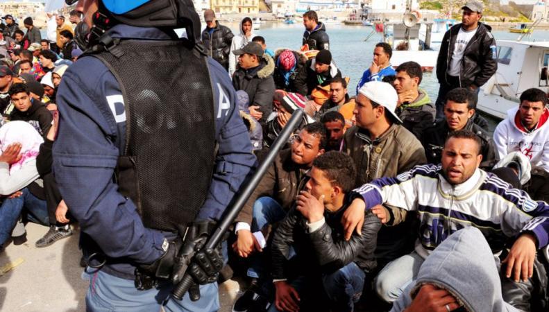 В Италии нарушаются требования Евросоюза по приему беженцев