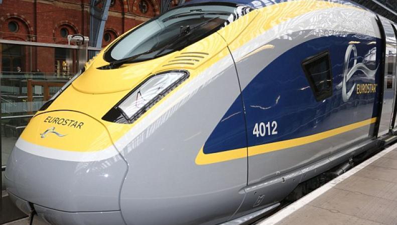 обновленный дизайн Eurostar