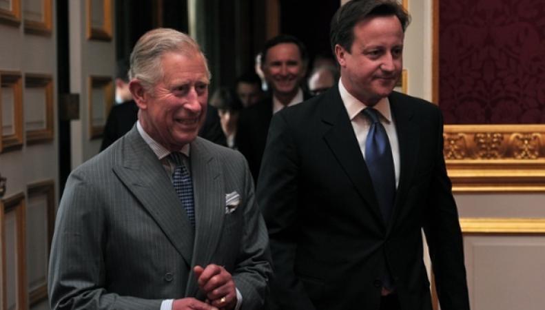 принц Чарльз и Дэвид Кэмерон