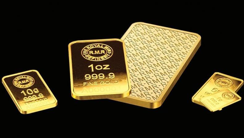 Золотые слитки RMR