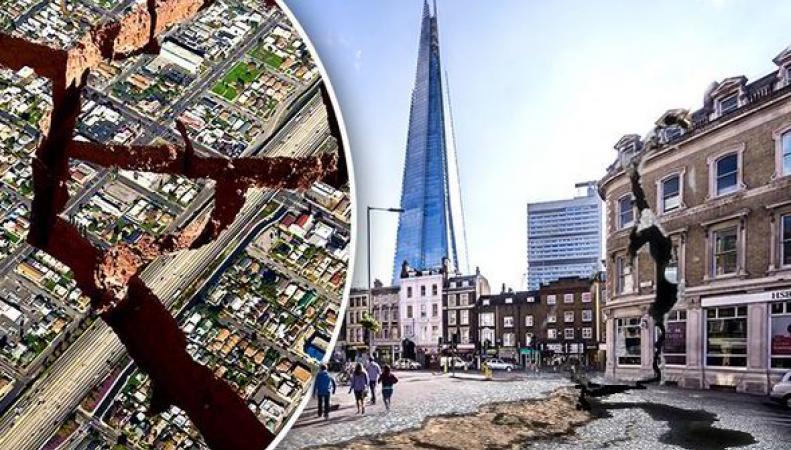 Землетрясение в Лондоне