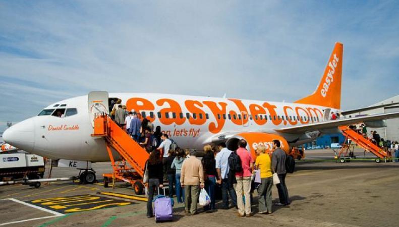 самолеты easyJet